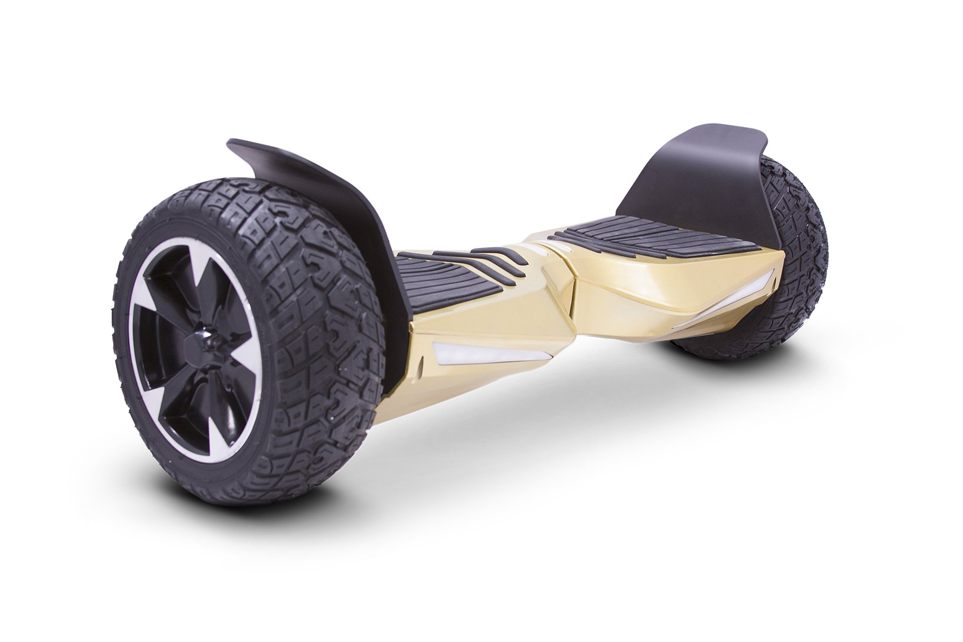 2018 Two Wheel Self Balance Scooter Off-Road Hoverboard UL 2272 Bluetooth Speakers 8.5 Inch All Terrain Road Condition (Gold) by Bowen