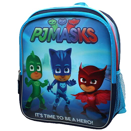 Amazon.com | Disney Junior PJ Masks 3D Backpack & Lunch Box Set | Kids Backpacks