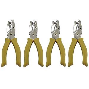 "Fiskars Corporation 1/4"" Star Hand Punch 23537097J, 4 Pack"