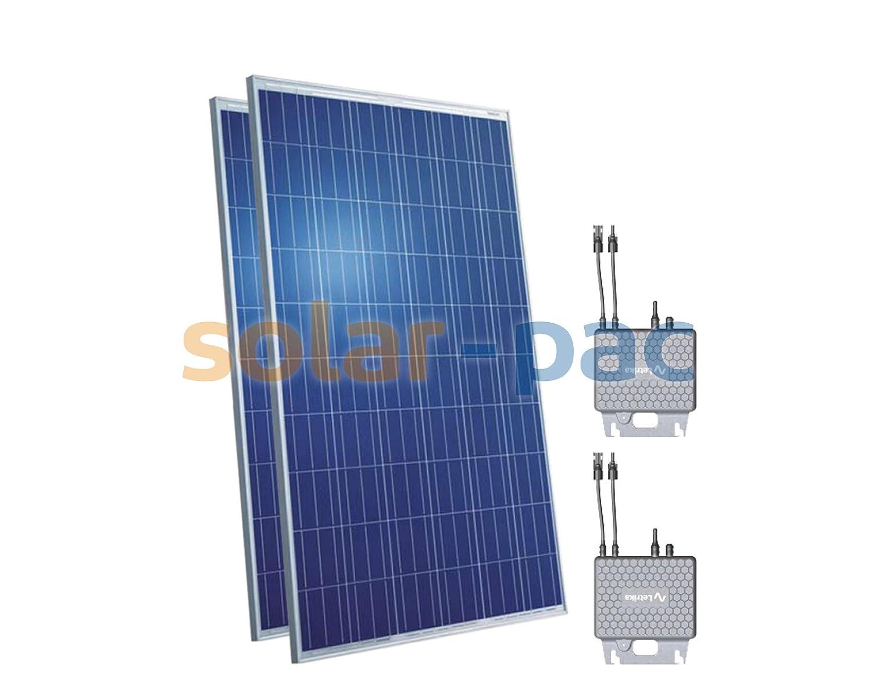 Solaranlage 530Wp mit Plug-In Modulwechselrichter zur Stromerzeugung