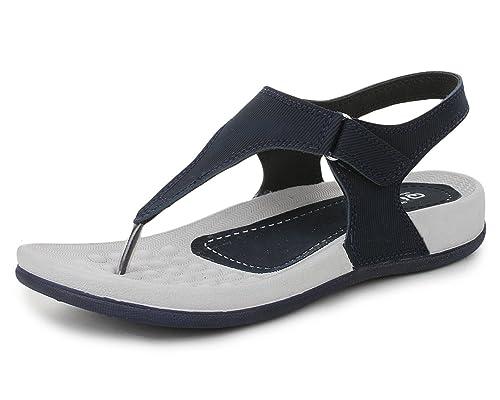 Trase QURE Women's Dailywear Footwear / Sandal ( Ultra Light Eva Sole) Fashion Sandals at amazon