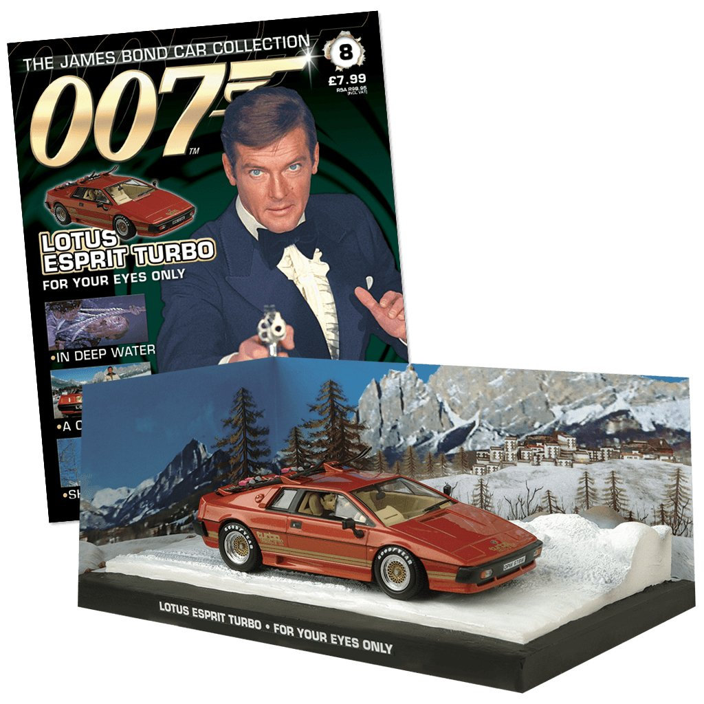 007 James Bond  Car Collection  Bond 8 Lotus Esprit Turbo (For your eyes only) 0beed1