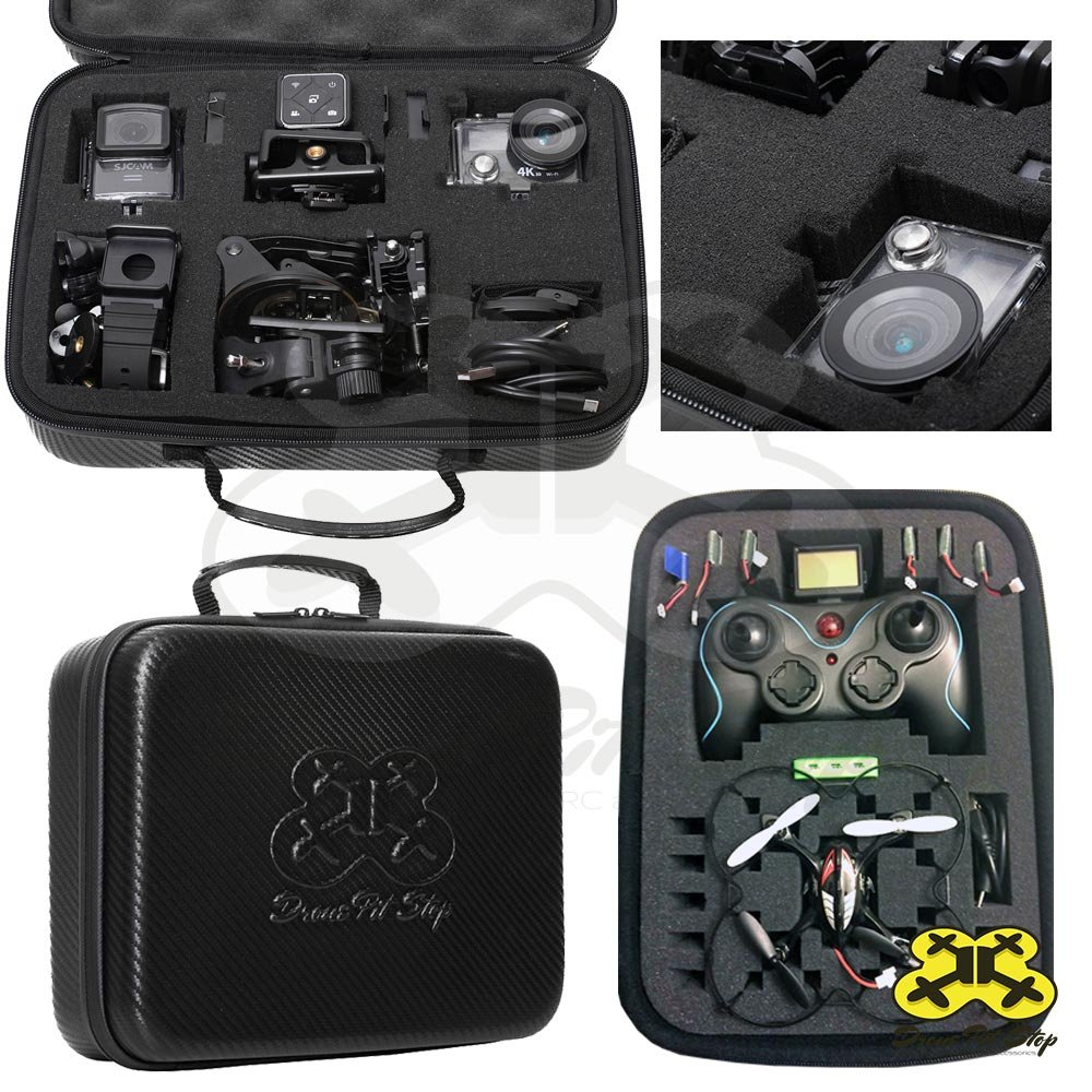 Amazon DIY Carrying Case Small For Mini Drone Quadcopter Action Cameras Pre Cut Pick And Pluck Foam