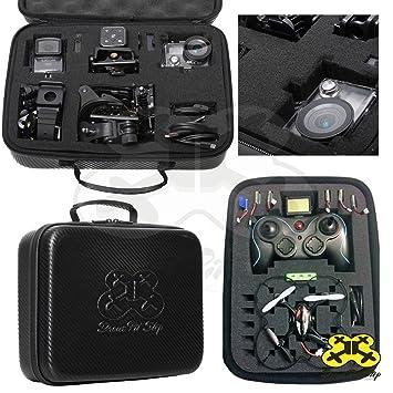 Maletín Caja para el Mini Dron Quadcopter y Juguetes a Radio ...