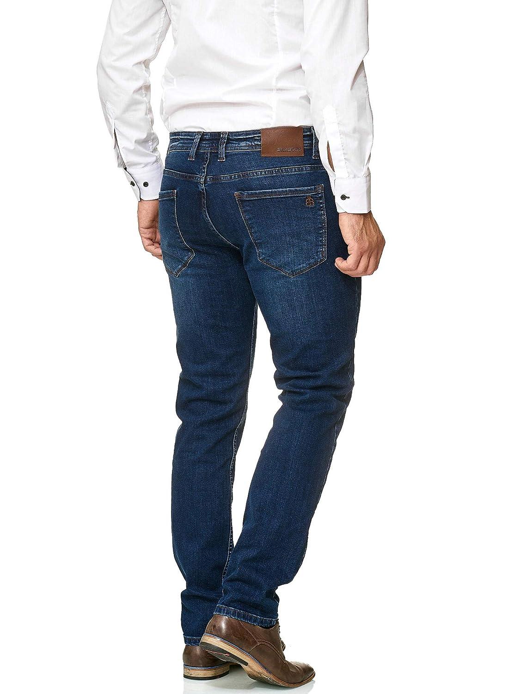 Barbons Herren Jeans - - - Einführungspreis - Bügelleicht - Slim-Fit Stretch - Business Freizeit - Hochwertige Jeans-Hose B07JX8PJYH Jeanshosen Attraktive Mode 72d040