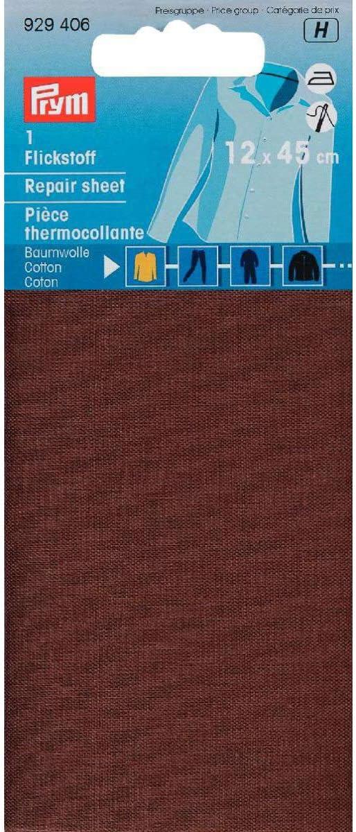 929393 Flickstoff CO aufb/ügelbar 12x45cm bleu