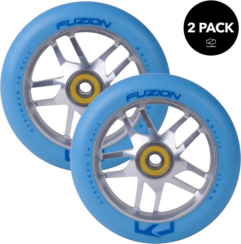 Amazon.com: Fuzion Pro Scooter Ruedas 4.331 in huecas Core ...