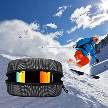 EVA Snow Ski Eyewear Case Skiing Goggles Sunglasses Case Carrying Box Hard A9I0