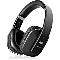 August EP650 Casque Bluetooth v4.2 aptX Low Latency NFC Multipoint APP EQ Autonomie de 15H Circum Aural