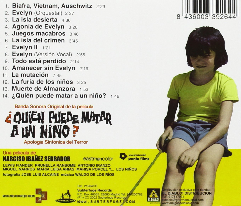 Waldo de los Rios - Quien Puede Matar a Un Nino - Amazon.com ...