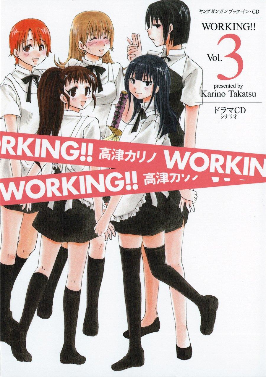 Download ヤングガンガン ブック・イン・CD WORKING!! Vol.3 (ヤングガンガンブック・イン・CD) pdf