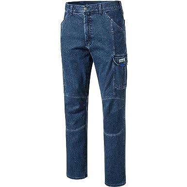 PIONIER WORKWEAR Herren Casual Jeans mit Zollstocktasche in blau (Art.-Nr.  2990): Amazon.de: Baumarkt