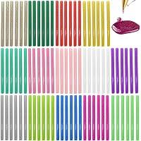 Glitter Hot Melt Lijm Sticks voor Mini Lijm Gun Ambachten, 84 Pack 7mm Glitter Lijm Sticks Glittery Lijm Sticks voor…