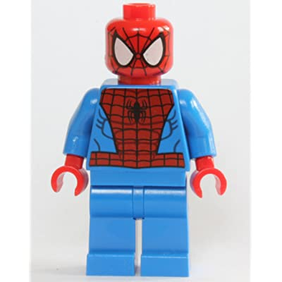 LEGO Marvel Super Heroes Minfigure - Spider-Man Black Web Pattern: Toys & Games