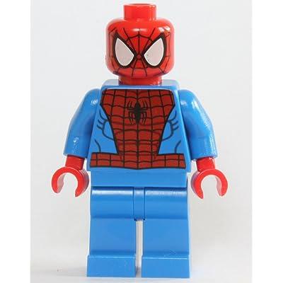 LEGO Marvel Super Heroes Minfigure - Spider-Man Black Web Pattern: Toys & Games
