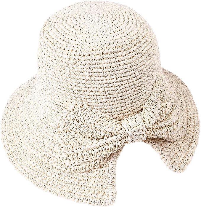 Amazon.com: Sinfu Mujer Primavera Verano Visera Handmade ...