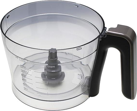 Cuenco sin tapa referencia: 996510074819 para Preparation culinario Philips: Amazon.es: Grandes electrodomésticos