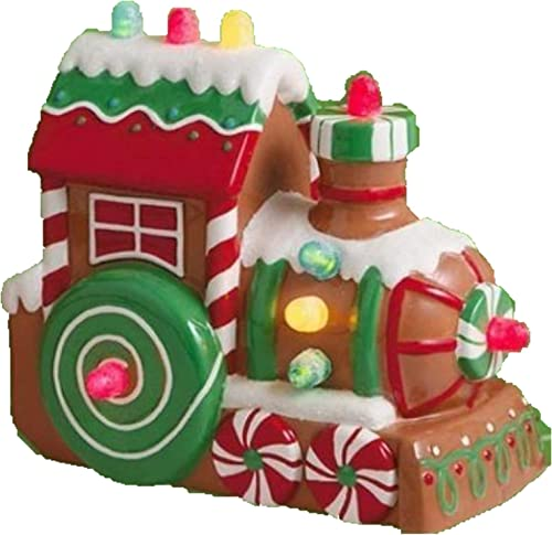 Hallmark 2011 Christmas Express Musical Train Tabletop Decoration – Lights and Music LPR2325