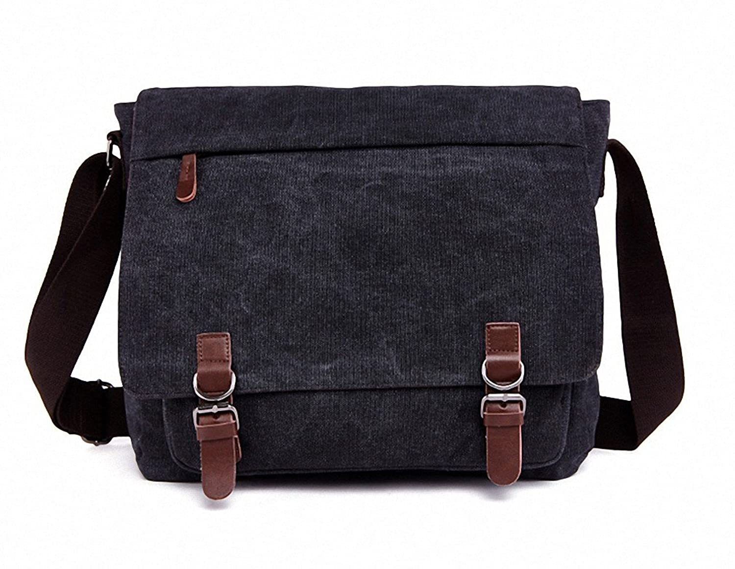 Amazon.com | Kenox Vintage Classic Canvas Laptop Messenger Bag ...