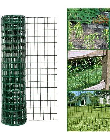 vidaXL 5//10//15//20x Flexible Lawn Fences Galvanised Steel 100x15cm Border Edge