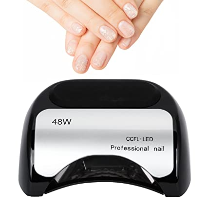 48 W lámpara sèche-ongles con LED y UV Profesional – Secador de Uñas para