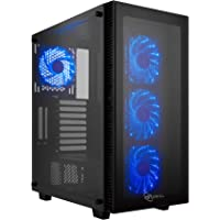 Rosewill CULLINAN MZ ATX Mid Tower Gaming Computer Case Chassis (Black) + Rosewill Modular Power Supply