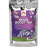 Shifa Brain Boost Tea With Turmeric: Rejuvenating Tonic Enhances Memory, Focus and...