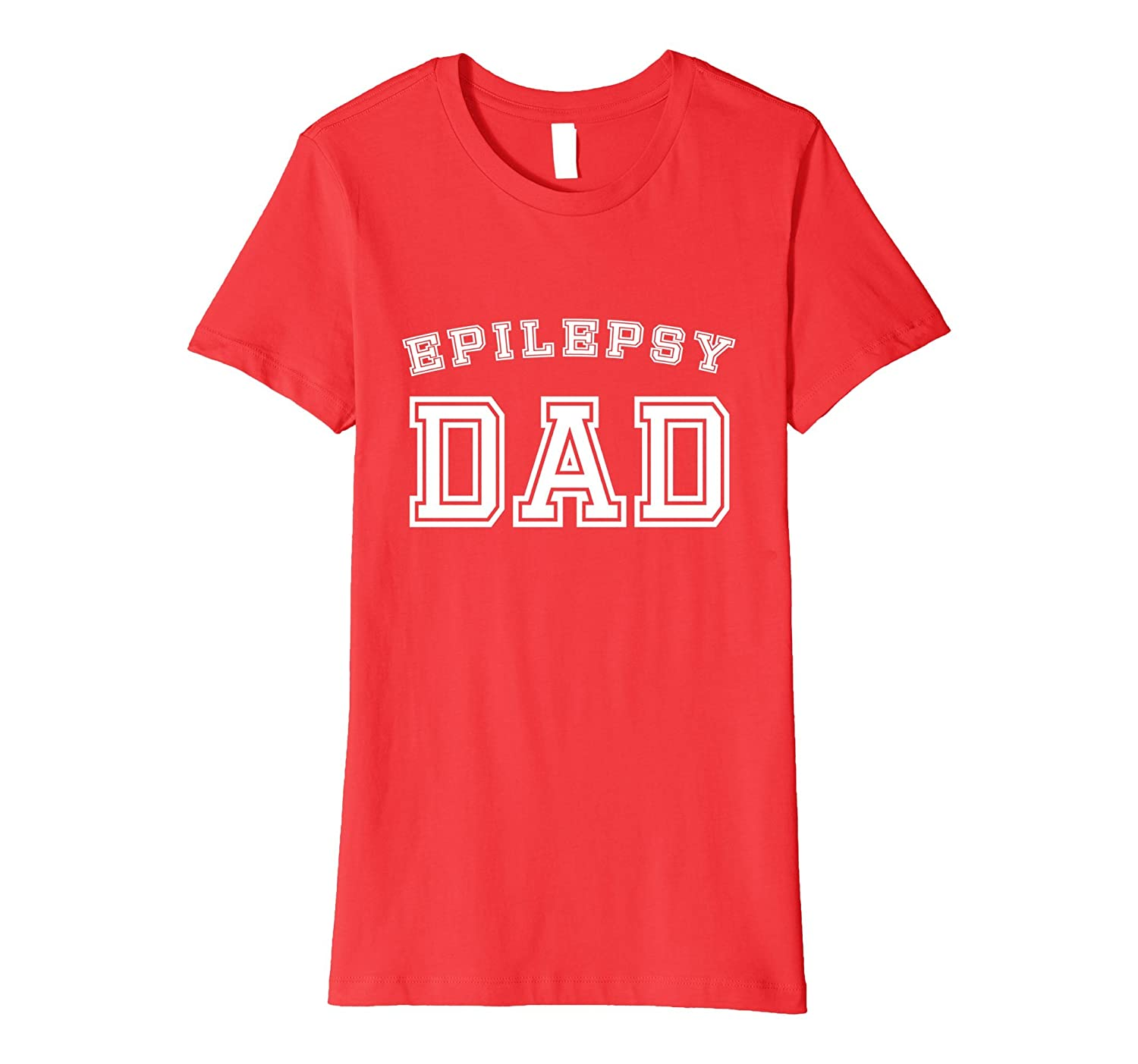 Epilepsy Dad Awareness T-Shirt Sports Style Father Epileptic