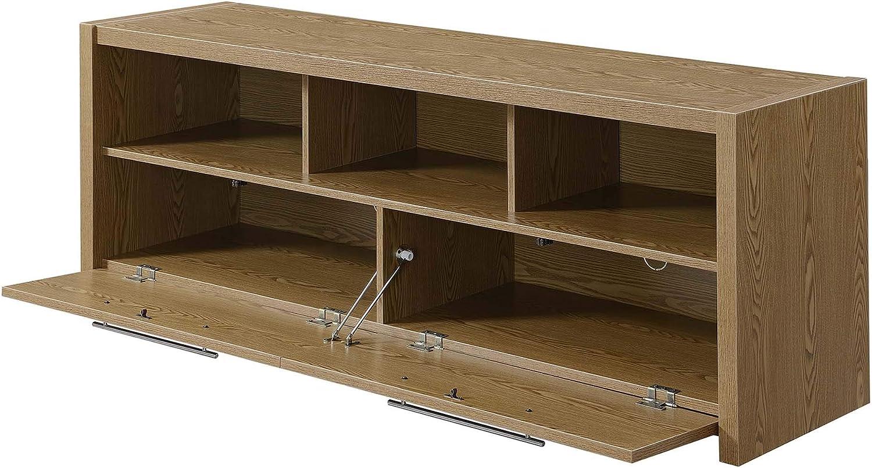 "Convenience Concepts Newport Marbella 60"" TV Stand, Driftwood"