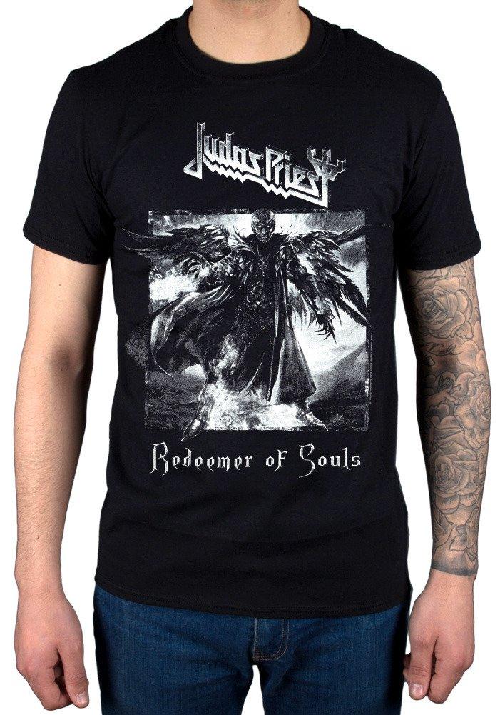AWDIP Men's Official Judas Priest Redeemer of Souls T-Shirt Metal Band English