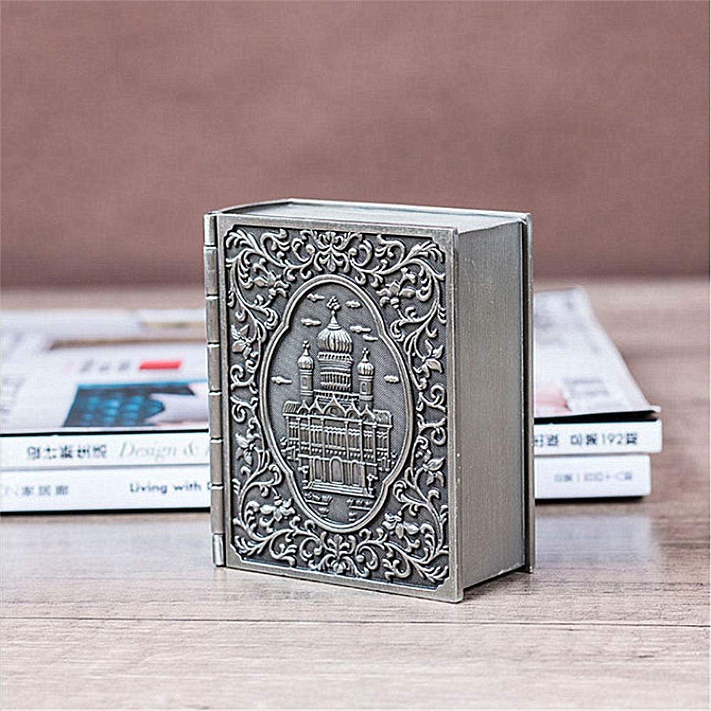 Amazon.com: YSHYT Joyero de libro de la Biblia, sin ...