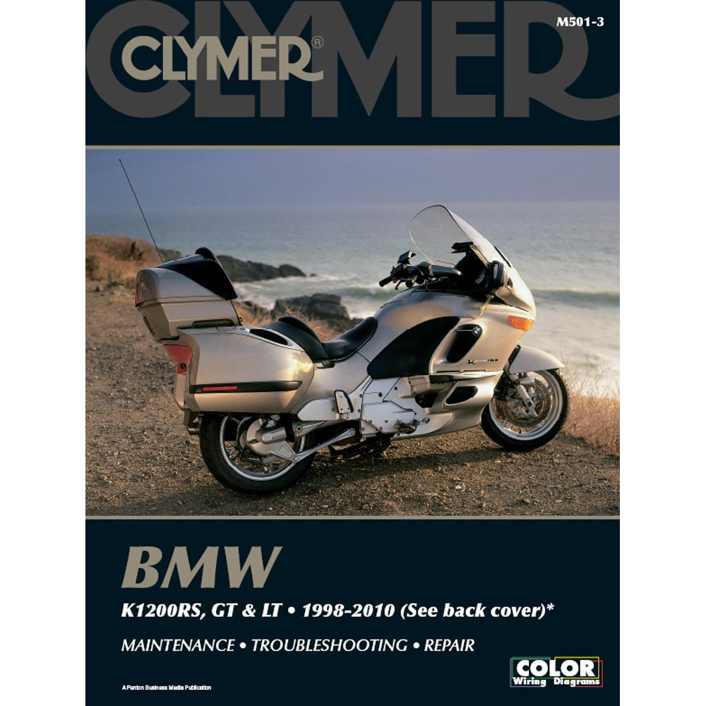 M501-3 1998-2010 BMW K1200RS GT LT Motorcycle Repair Manual by Clymer:  Manufacturer: Amazon.com: Books