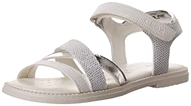 4884aed6 Geox Girls J Karly D Open Toe Sandals: Amazon.co.uk: Shoes & Bags