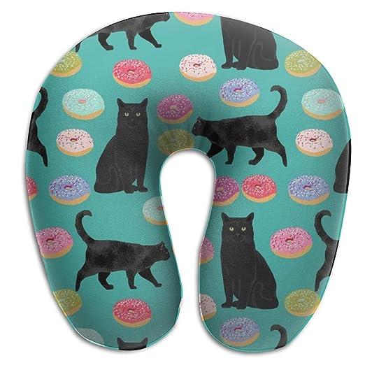 Dama Home Almohada para el Cuello, Tela de Donuts para Gatos ...