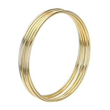 40 Pack Gold Metal Rings Hoops Macrame Rings For Dream Catcher And New Where To Buy Dream Catcher Hoops