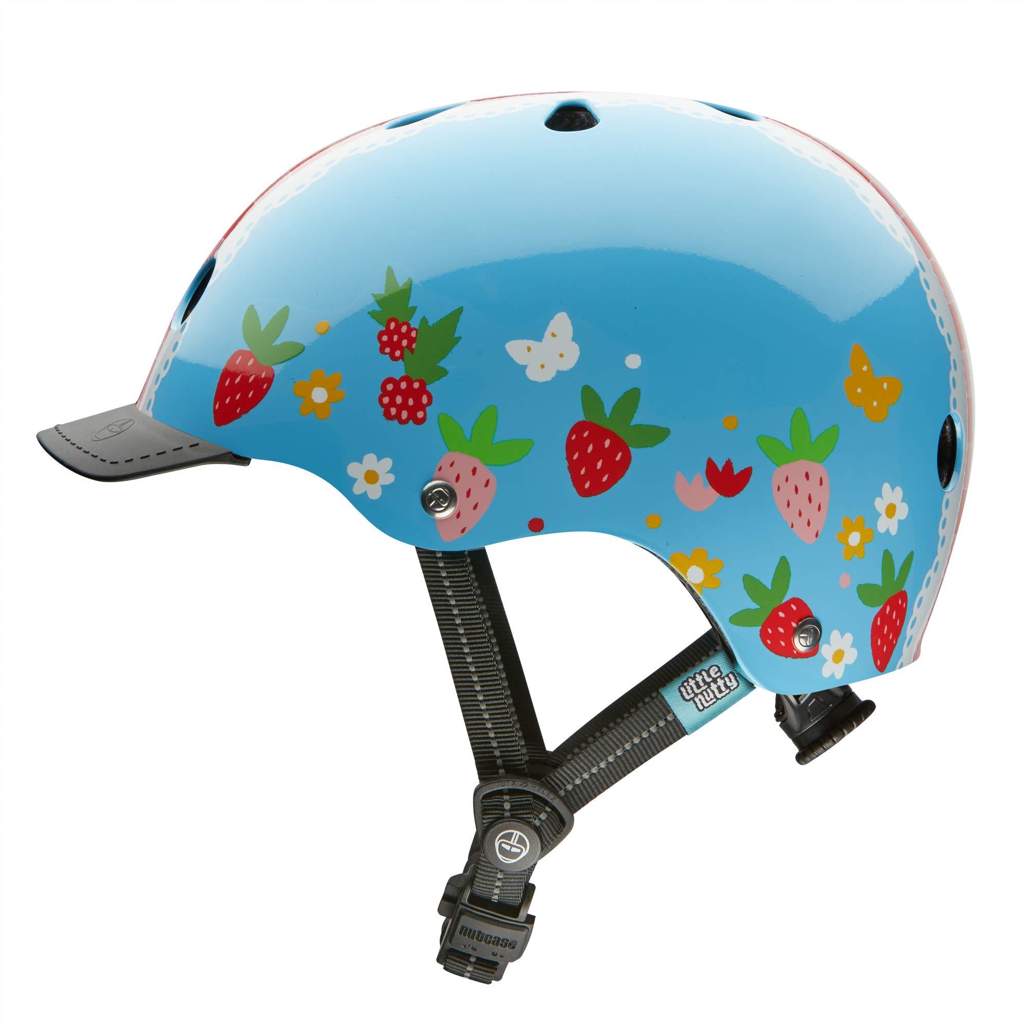 Nutcase - Little Nutty Bike Helmet for Kids, Berry Sweet, X-Small