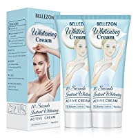 Bellezon Whitening Underarm Cream Skin Cream, Body Cream for Armpit, Knees, Elbows, Sensitive and Private Areas (2 pack)