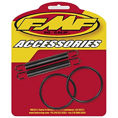 FMF Pipe O-Ring and Spring Kit for Yamaha YZ250 1999-2014 - 011318: Automotive