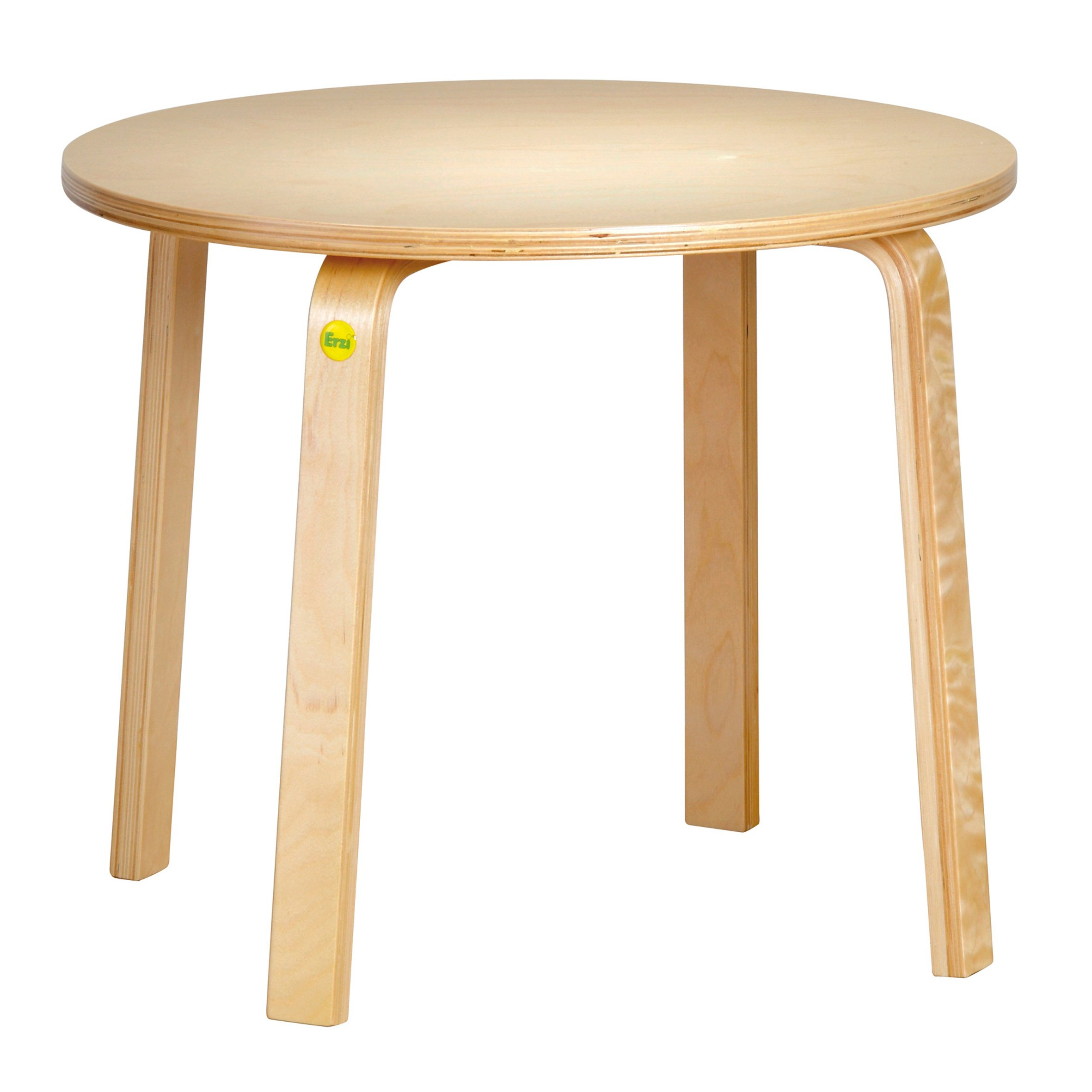 Erzi 60 x 46 cm Molded Wood Table 46 German Wooden Toy