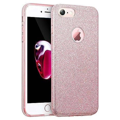 custodia silicone iphone 7 rosa
