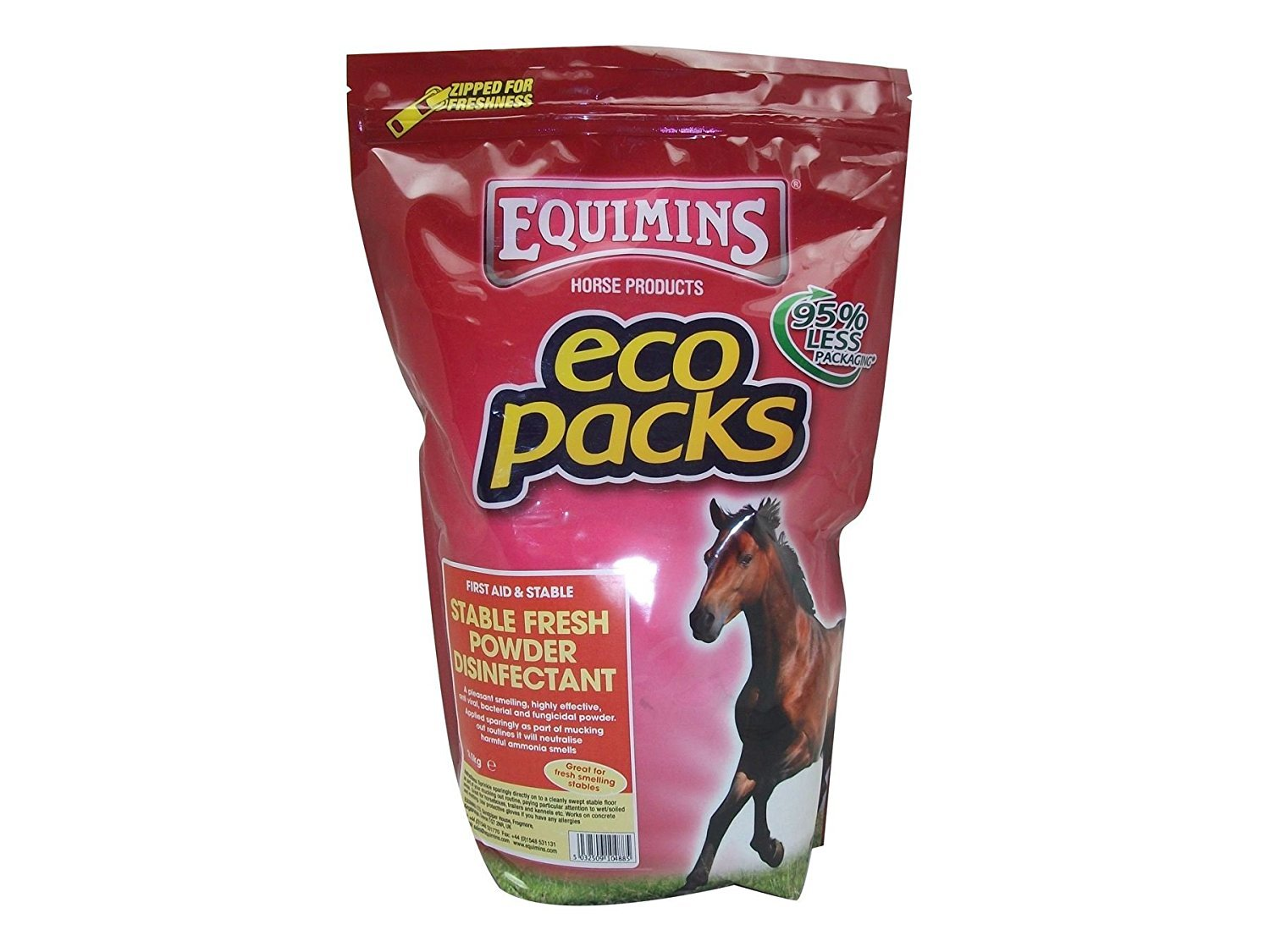 Stable Fresh, Equimins, Horse Stable Disinfectants, 5kg
