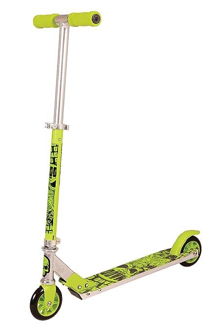 Madd Gear Pegs de patinete plegable, verde: Amazon.es ...