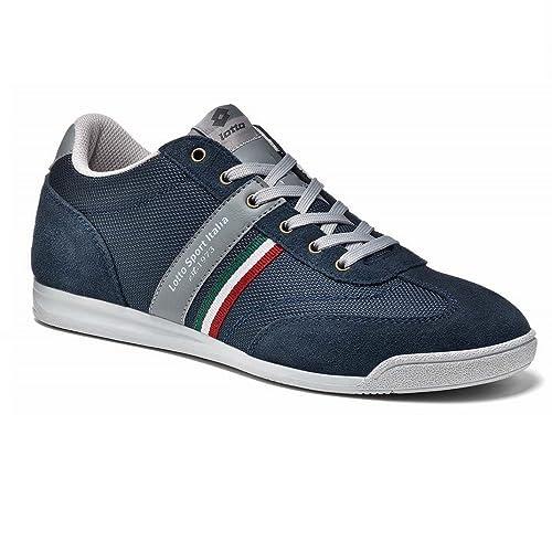 Lotto - Zapatillas de Lona para hombre azul navy 42: Amazon.es: Zapatos y complementos