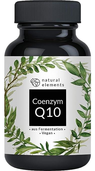 Coenzym Q10-200mg pro Kapsel - Preis-Leistungs-Sieger 2018* - 120 vegane Kapseln - Premium Q10 aus pflanzlicher Fermentation