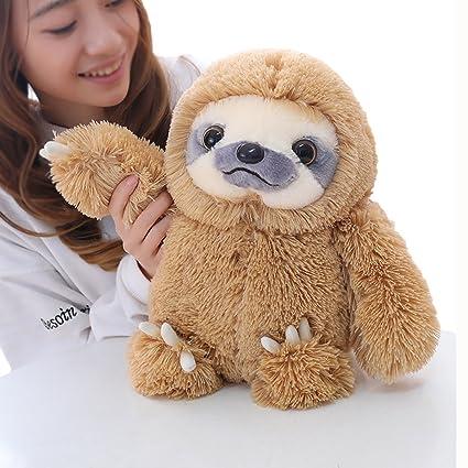 Amazon Com Winsterch Sloth Stuffed Animal Plush Sloth Bear Toys
