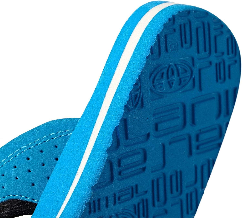 Animal Jekyl Logo Garçons Chaussures Tongs-Colonial Bleu Toutes Les Tailles