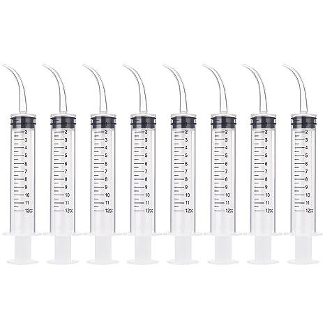 Amazon.com: Oralfit - 8 jeringas desechables para comida de ...