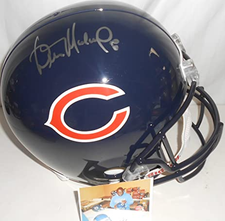 Signing Florida In Chicago Bears Autographs