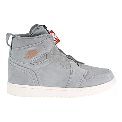 b3228447f5e5ec Nike Jordan Air Jordan 1 High Zip Women s Shoes Micagreen Red aq3742-305 (