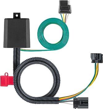 Amazon.com: CURT 56332 Vehicle-Side Custom 4-Pin Trailer Wiring Harness,  Select Hyundai Santa Fe, XL, Veracruz, Kia Sedona, Sorento: Automotive